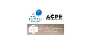 Communiqué de presse du 2 août 2018 de Coup de pouce - Protection de l'enfance, COFRADE et ACPE